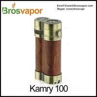 wooden vaporizer pen kamry 100W,100W e-cigarette paypal accepted,ecig starter kit kamry 100