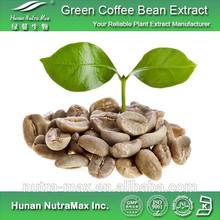 50% ácidos clorogênicos verde café capsule, Café verde em pó