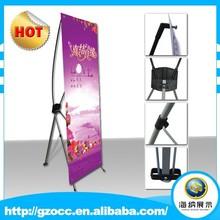 Strengthen screw cap Flex x banner stand Advertising x banner stand