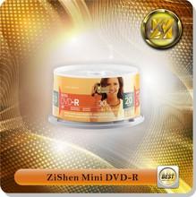 Mini Blank Dvd-R Mini Name Card Printing Shaped Mini Dvd