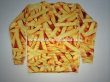 2015 hot design wholesale crewneck sublimation sweatshirt sweater