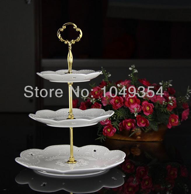 Nova 2015 prata e ouro misturado bolo rack acessórios/placa do bolo vara para gastar 200/design saco( excluindo placa) por atacado