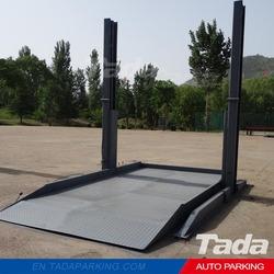 PJS Two Post Design car parking lift/Parking Lift Type Auto Parking equipment