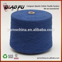 recycled open end yarn NE 18 sock yarn for Uzbekistan
