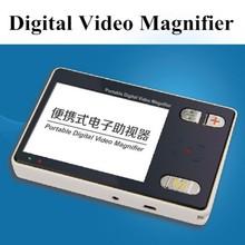 3.5 pulgadas 2x-24x digital de vídeo de papel del bolsillo de la lupa