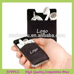 2015 Promotion mobile phone Lycra 3M sticker smart wallet