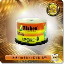 Blank Dvd-/+Rw Virgin Material Dvd+Rw 4.7Gb Empty Dvd-Rw 120Mins 4.7Gb 16X