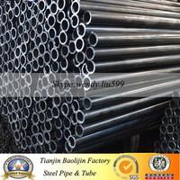 Q195 Black Furniture Oval steel tube
