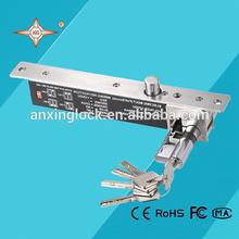 Small electronic key door lock for glass door