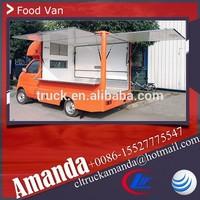 Cheap China Changan 4*2 69hp mobile food vending van truck for sale