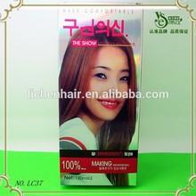Diifirent kind of cream organic natural hair dye henna herbal black hair dye
