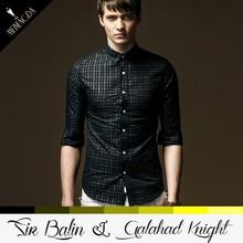 latest design private label british style 100% cotton long sleeve men s shirt