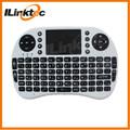 2.4g inalámbrico de teclado árabe con multi- touchpad para smart tv