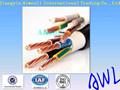 alambre de cobre o de la cuerda o galvanizado ungalvanized cables de acero