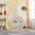 rota del pe colgando de apple silla de jardín de mimbre de hierro sillas de oscilación