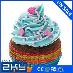 DIY cupcake / desset cup set /silicone cake moulds