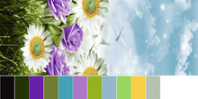Flower design peack skin fabric,100% Polyester 3D disperse printed brushed fabric from china supplier
