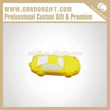 personaslity deign handmade PVC car form usb pen Guangzhou factory