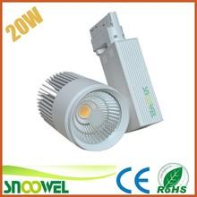 China supply new art gallery cob 20w led track light,led tracklight 20w