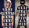 fashion street t-shirt 100% cotton custom design