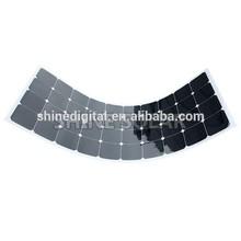 120W Sunpower Semi Flexible Solar Panel for EU , light weight and soft