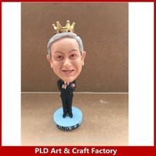 England King B bobble Head/Custom resin bobble head