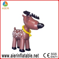 Christmas animated inflatables Xmas blow up deer for sale