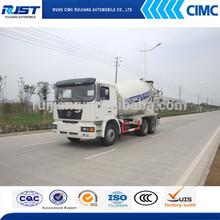 6*4 SHCMAN 6-12m3 Concrete/Cement Mixer Truck For Sale