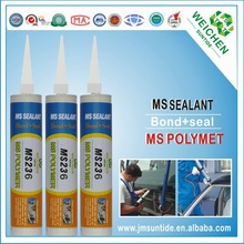 new arrival no silicone MS polymer adhesive acetic silicon sealant