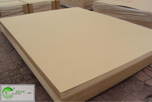 high quality plain mdf board 15mm for export