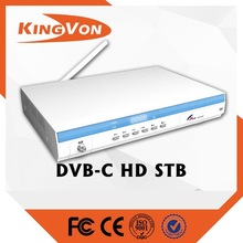 cable tv receiver HD DVB-C set top box with free sample