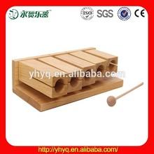 Wood block educational nature wood educational block G6-5