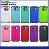 Hybrid Durable Silicone Cell Phone Covers for Samsung galaxy S6 bling bling smart case