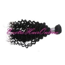 Exotichair virgin malaysian curly hair 3pcs Tresses hair