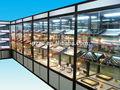Personalización de la tienda de joyas en muebles de alta calidad utilizados muestra de joyas 3d max joyería de diseño de muebles de sala de exposición zbg-68