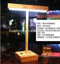 Simela promotional wooden table lamp