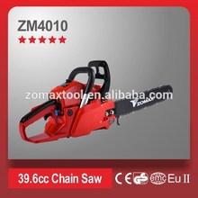 power tools 1.5kW/2.0hp 39.6cc ZM4010 chainsaw winch 2 stroke diesel engine