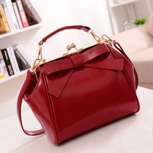 china supplier 2015 new product leather handbag woman shoulder bag with colorful