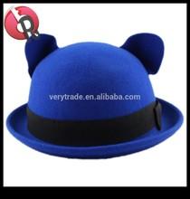 felt child bowler hat kids bowler hat ,children's bowler hat