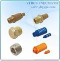 Fábrica al por mayor de sonido eliminador de plástico/de metal/aleación de aluminio/de acero inoxidable