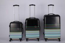 2015 Factory customized personalized cheap luggage trolley luggage set travel luggage