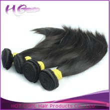 100% unprocessed high quality virgin remy hair extensions natural black color can be dyed to gray remy hair extensions