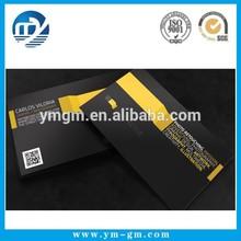Wholesale custom high end name card printing sample card