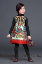 Baby Frock Design Party /Festival Dress Jacquard Dress