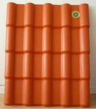 chinese ceramic pvc/upvc roof tiles for building