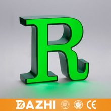 2015 energy saving decorative led letter sign, acrylic led channel letter, outdoor/indoor led logo