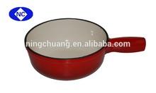 easy- clean cast iron pot