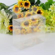 custom Transparent/ clear plastic folding PVC box Printed Plastic Packaging Box, Clear Plastic Box, Plastic Folding Box
