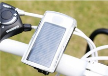 New 2015 Cycling Light Solar Energy 4LED Lamp Bicycle/Bike Headlight