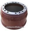 66864 cast iron webb semi-trailer brake drum with ISO certificate